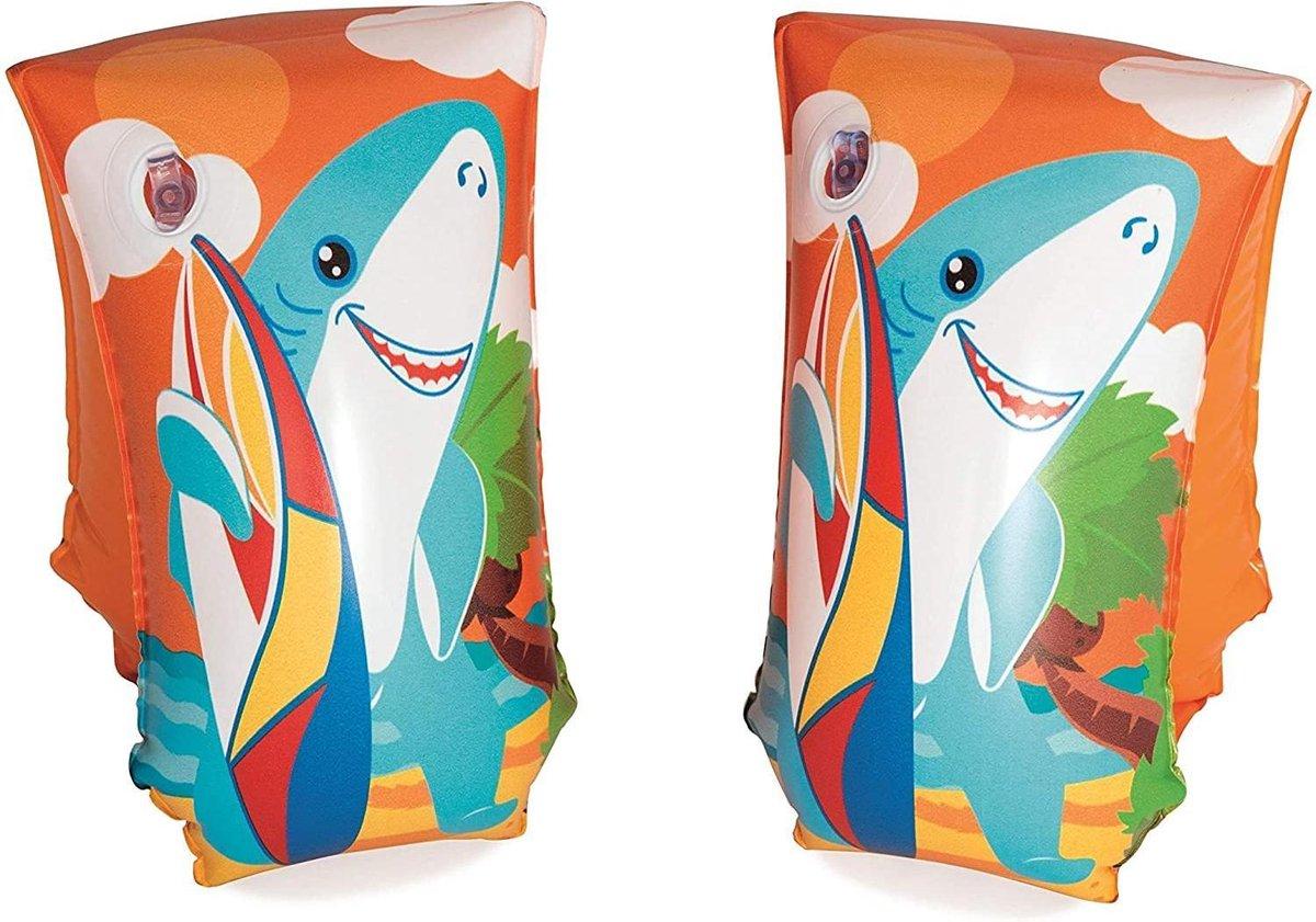 Bestway zwembandjes - Haai - 5-12 jaar - 15 x 30cm