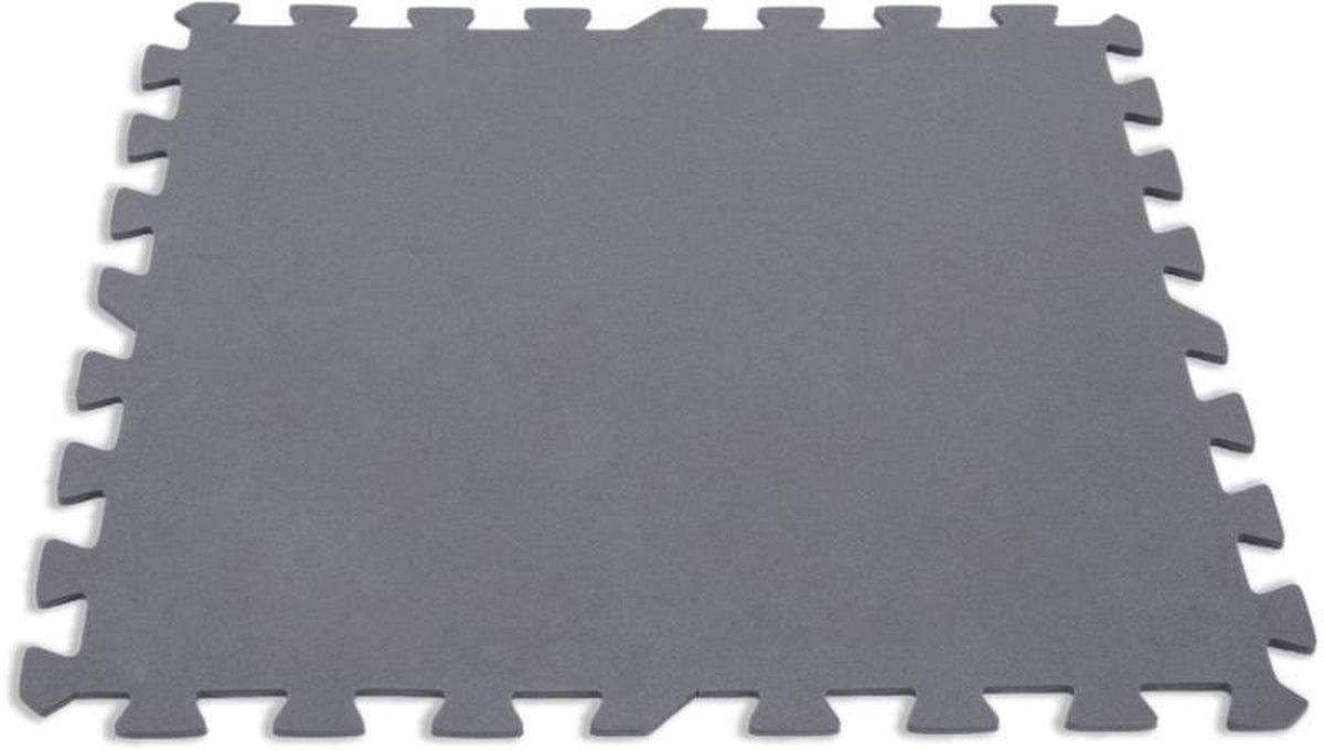 Intex 29084 Krystal Clear Zwembadtegels 8 Stuks Grijs