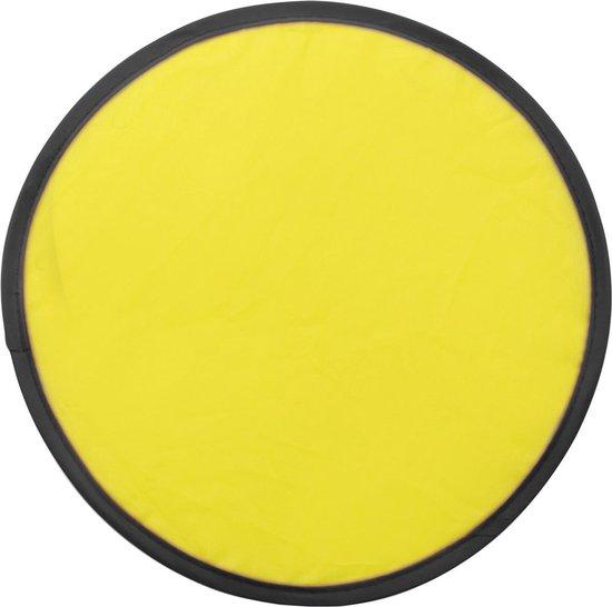 Opvouwbare frisbee - geel