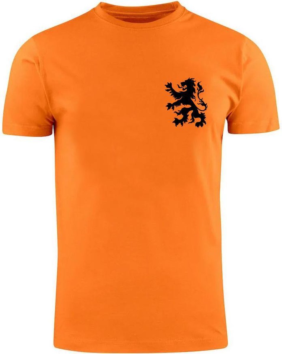 Johan Cruijff Heren t-shirt | EK | WK | Holland | Oranje | Nederlands Elftal | 14