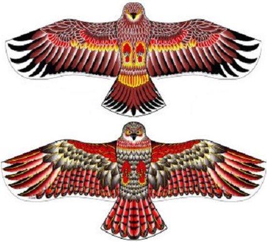 Cerf Volant XL Roofvogel - Adelaar - 120cm Spanwijdte