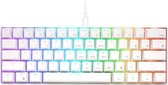 RK61 Gaming Keyboard Wit - RGB Verlichting - Ergonomisch Mechanisch Gaming Toetsenbord Met Draadloos Verbinding - Qwerty - 60% Met Multimedia Toetsen - Brown Switches