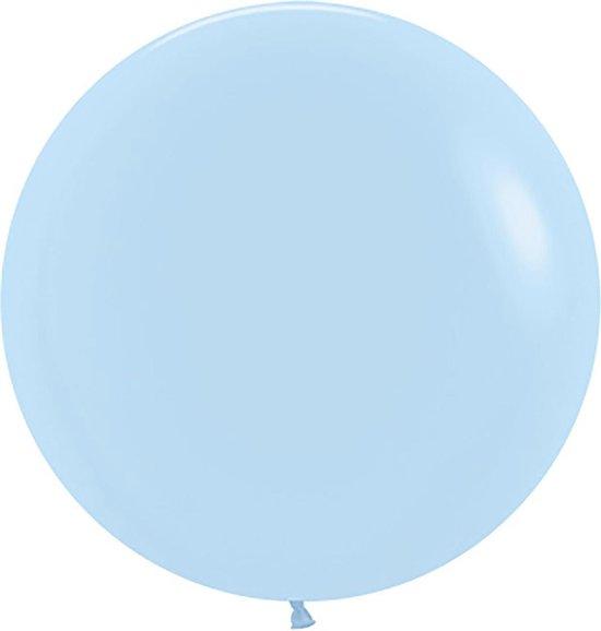 Sempertex ballonnen 61cm Fashion Pastel Matte Blue 640 (10 stuks)
