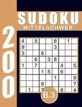 Sudoku Erwachsene Mittelschwer Band 3