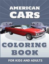 American Cars Coloring Book For Kids And Adults
