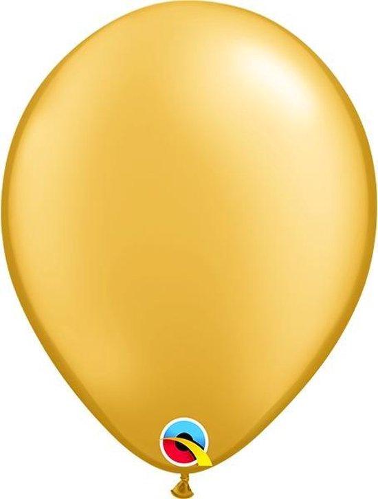 Ballonnen Pearl Goud 45 cm 5 stuks
