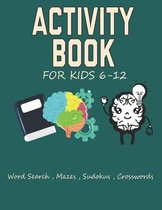 Activity book for kids 6-12