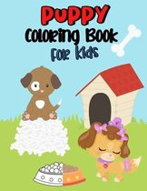 Puppy Coloring Book for Kids