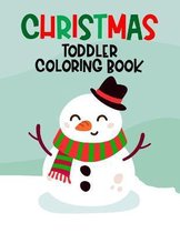 Christmas Toddler Coloring Book
