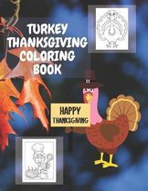 Turkey Thanksgiving Coloring Book