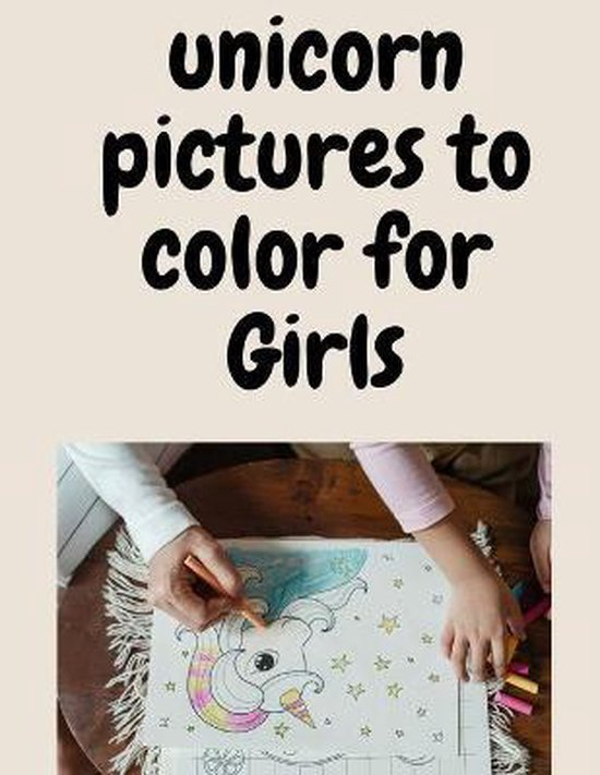 unicorn pictures to color for Girls