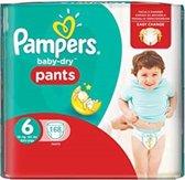 Pampers Baby Dry Pants maat 6 - 168 stuks