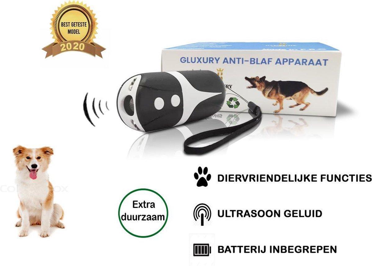 Diervriendelijke Ultrasone Anti- blaf Apparaat 2020 + Batterijen - Extra Snel van Blaffen af - Anti