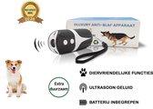 Diervriendelijke Ultrasone Anti- blaf Apparaat 2020 + Batterijen - Extra Snel van Blaffen af - Anti blafband – Honden Training Blaffen – Hondentrainer