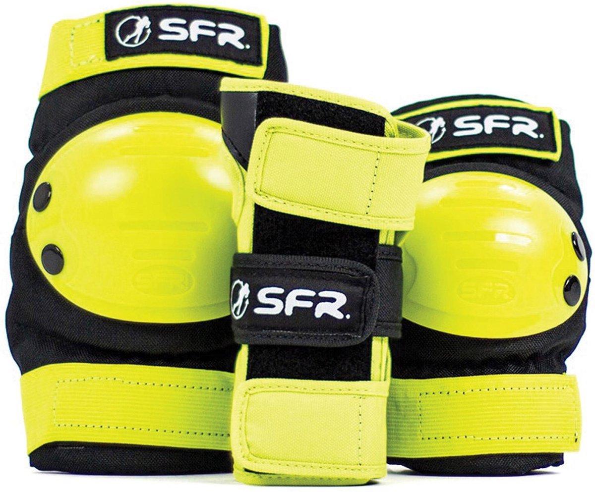 SFR Valbescherming setUnisex - Geel/Zwart