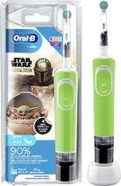 Oral-B Kids Mandalorian - Elektrische Tandenborstel - Powered By Braun - 1 Handvat en 1 opzetborstel