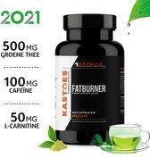 Kastoes Performance Fatburner – Fat killer – Afslankpillen / Caffeïne Pillen - Vetverbrander voor Afvallen – Buikvet Verbranden – 60 Groene Thee Capsules – Halal