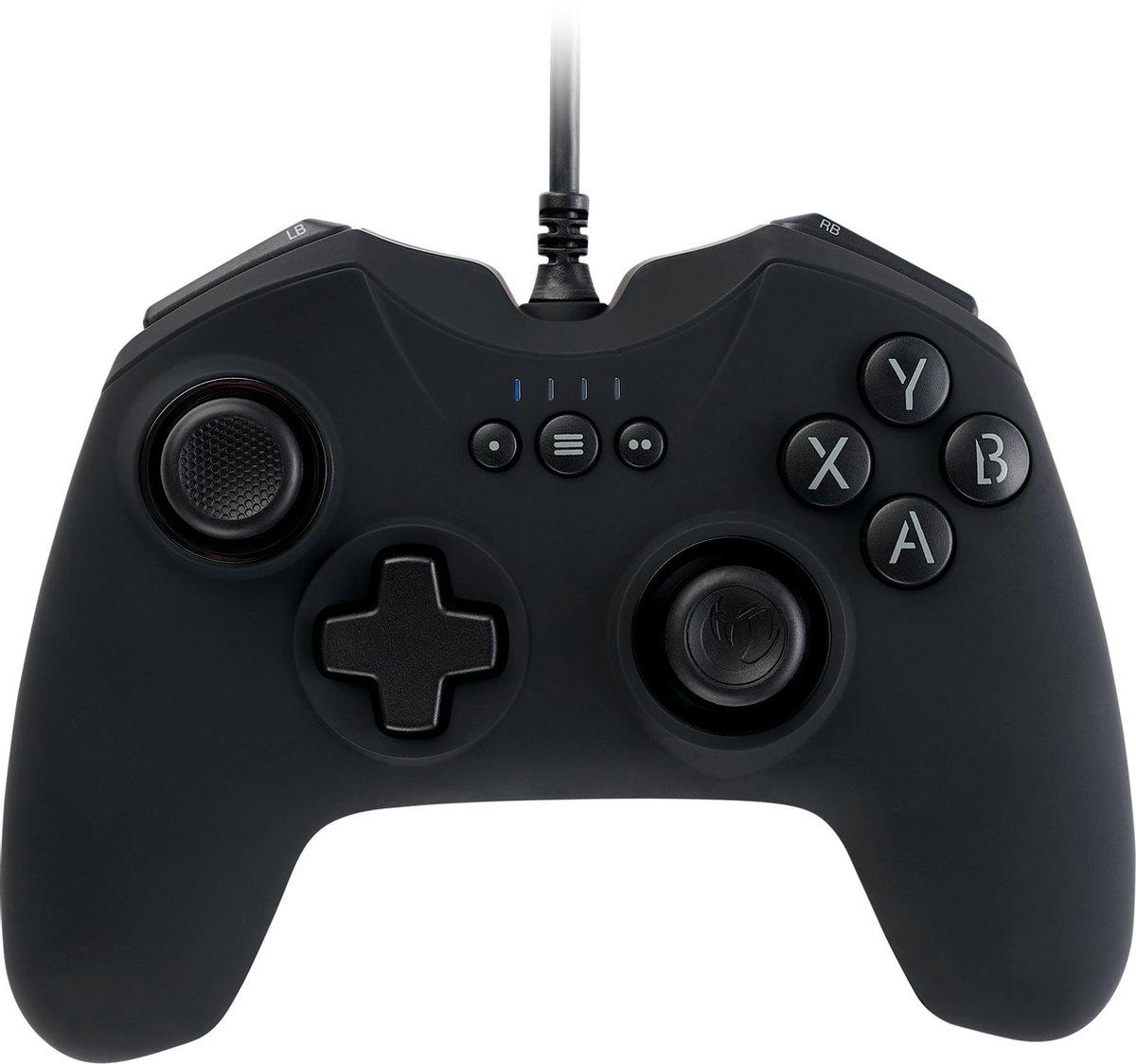 Nacon GC-100XF Wired Gaming Controller - PC - Zwart