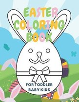 Easter Coloring Book For Toddlers Baby Kids