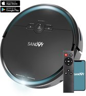 Sanovy 3 in 1 Robotstofzuiger met dweilfunctie inclusief laadstation