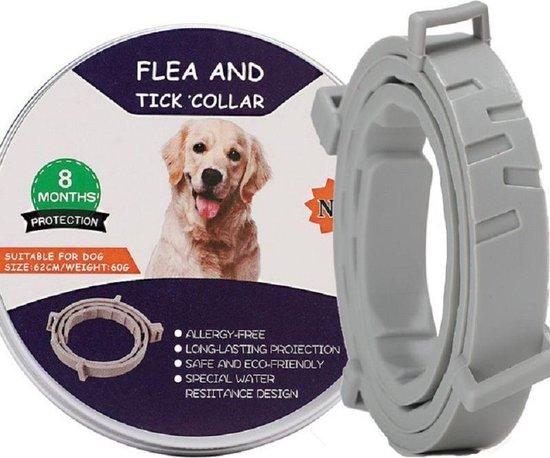 Teken en Vlooienband voor Hond - Bescherming voor 8 Kg - Waterbestendig en Allergie-Vrij
