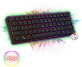 RK61 - RGB Mechanisch Gaming Toetsenbord  – Red Switches  - Zwart