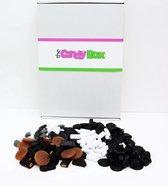 The Candy Box - Van de regen in de drop - Snoep & Snoepgoed cadeau doos - 500 gram
