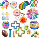 VTV Fidget Toys Pakket - 21 Toys Set - Fidget Cube - Fidget Pop It