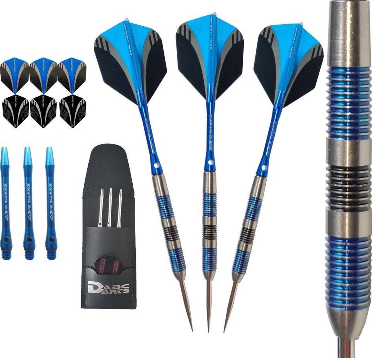 ABC Darts - Professionele Dartpijlen - Originals Blue Jack Tonners - 24 gram