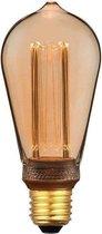 Specilights LED Kooldraadlamp E27 3-staps dimbaar ST64 Vintage - 5W Dimmen met Schakelaar en Geheugen