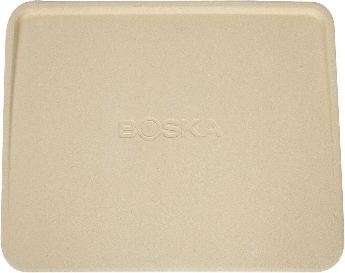 Boska Pizzasteen Deluxe Rechthoek - Voor de oven - Knapperige pizza's - 40x32 cm