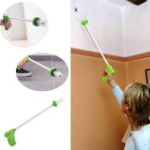 Spinnenvanger- Eco Vriendelijke Insectenvanger met grijpborsteltje-Groen-