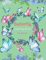 Butterfly Coloring Book For Women
