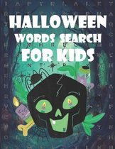 Halloween Searching Words for Kids: Over 50 Puzzle Words Practice Spelling, Learn Vocabulary, and Improve Reading Skills with Catchy Halloween Words