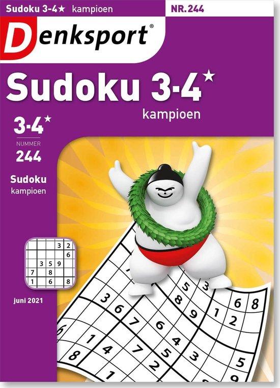 Afbeelding van Denksport Puzzelboek, Sudoku 3-4* kampioen, editie 244