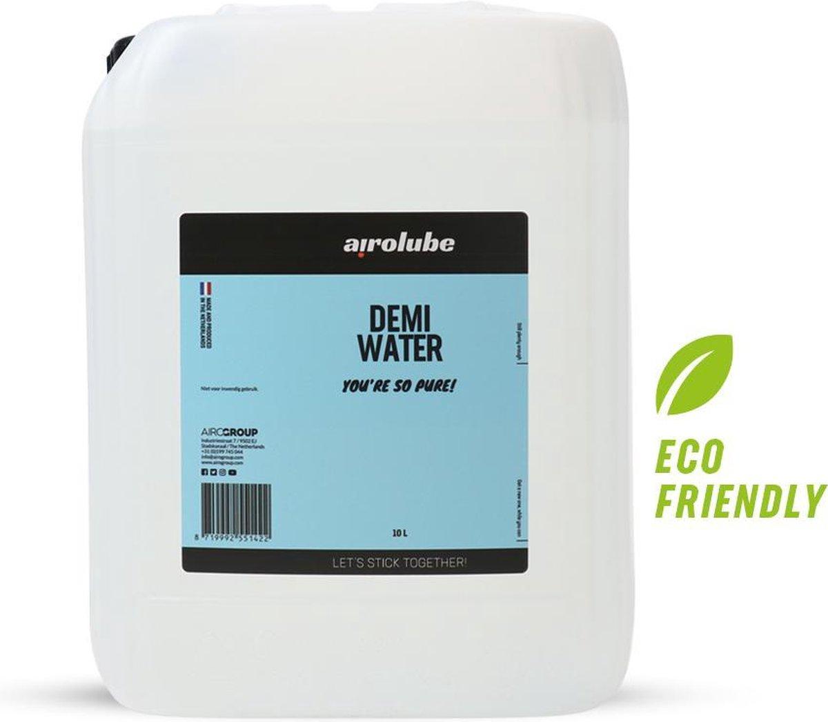 Demi-water 10L Jerrycan gedemineraliseerd water - accu water - strijk water - gedestilleerd water -