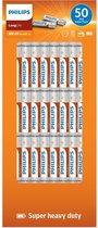 Philips Longlife Batterijen AAA 50 stuks