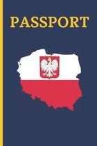 Passport: 6  X 9  Trip Planner & Travel Journal Notebook. Plan Your Next Vacation in Detail to Poland