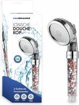 MM Brands Ionische Douchekop – Douchefilter – Waterfilter - Waterbesparende Douchekop Filter – Vitamine C – Mineraalwater – 3 Filter Standen
