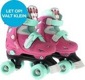 K3 - Rolschaatsen - dromen - verstelbaar - met stopper - Maat 30-33 - Roze/Mintgroen