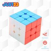 JUST23® Moyu speed cube 3x3 magnetisch - Smartgames - Breinbrekers voor volwassenen