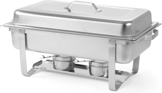 Hendi 2 x Chafing Dish GN 1/1 - 60 x 35,8 x 29,5
