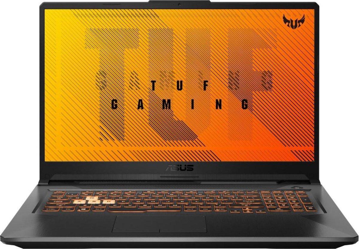 ASUS TUF Gaming F17 FX706LI-HX205T - 17 inch 144Hz - i7-10870 - GTX 1650Ti - 16GB - 512GB M.2 - W10 Home