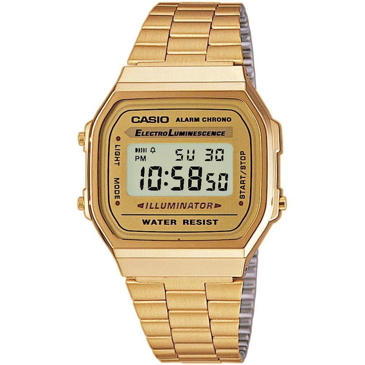 Casio Vintage Iconic A168WG-9EF Unisex Horloge - 36 mm