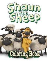 Shaun The Sheep Coloring Book