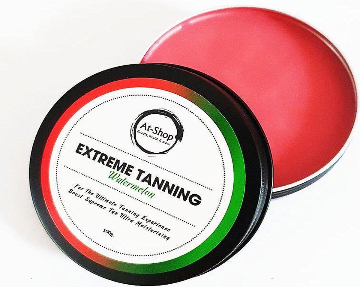 Extreme Tanning |NIEUWE GEUREN| Shine Brown | Tanning butter| Zonnestralen | Zonnebank creme | At-Sh