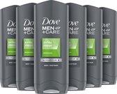Dove Men Extra Fresh Douchegel - 6 x 250 ml - Voordeelverpakking
