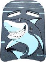 BECO zwemplankje Kick - blauw - haai