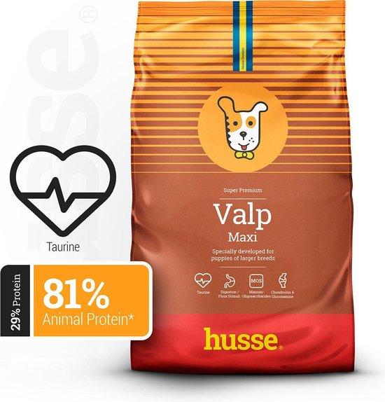 Husse Valp Maxi - puppy voer - Hondenvoer - 15 kg