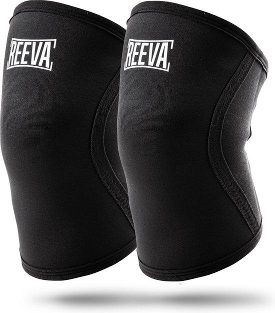 Reeva Knee sleeves – Geschikt voor Fitness en CrossFit – 5mm – verkocht per paar – Small